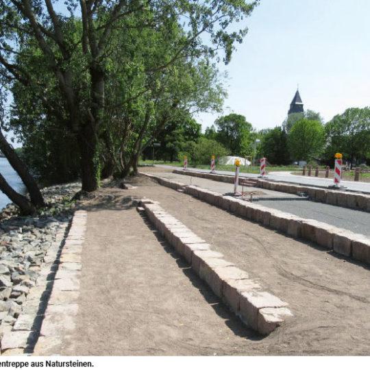 Schwanheimer Mainuferweg erneuert