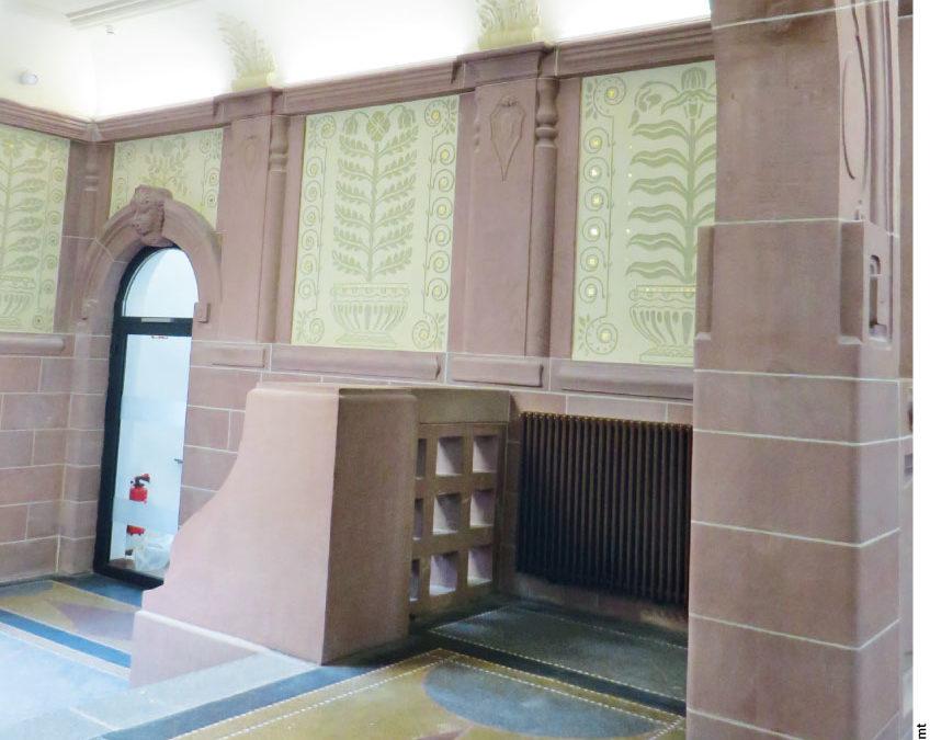 Haupttreppenhaus der Elisabethenschule