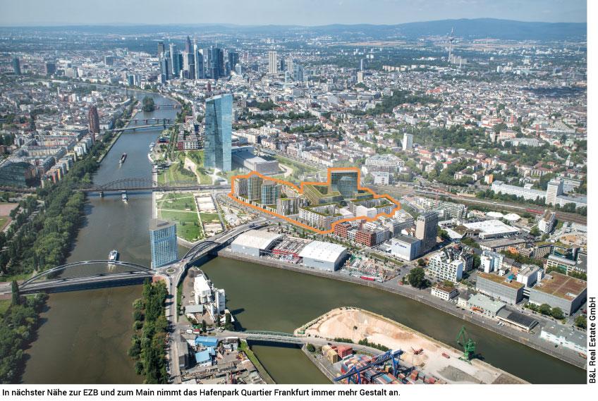 Hafenpark Quartier Luftbild