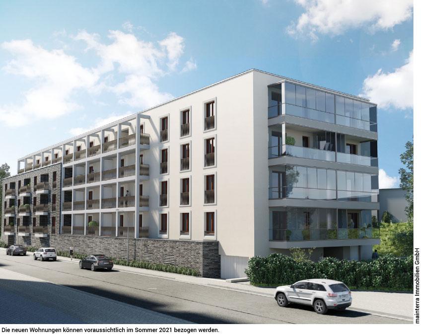 28 Wohnungen in der Tiroler Straße
