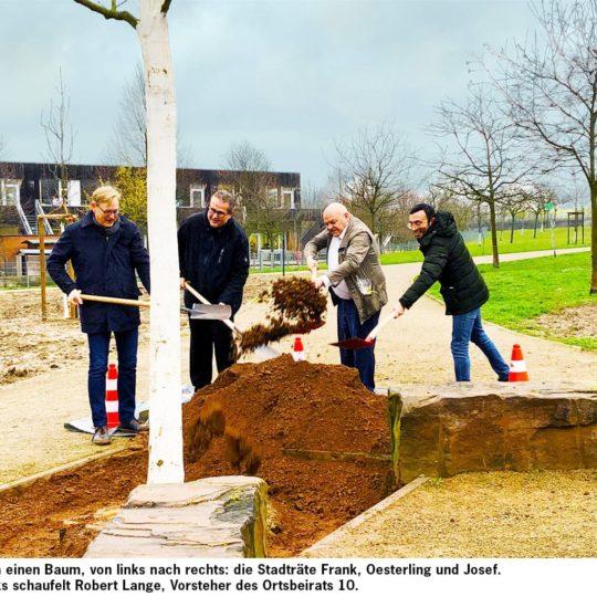 Stadt schließt Generationenprojekt Frankfurter Bogen ab