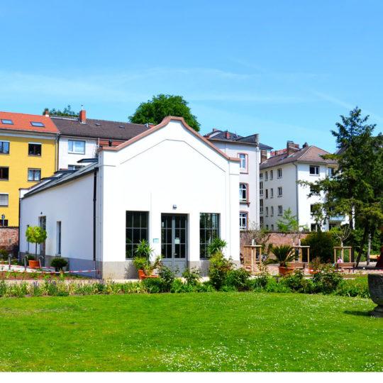 Orangerie im Bethmannpark saniert