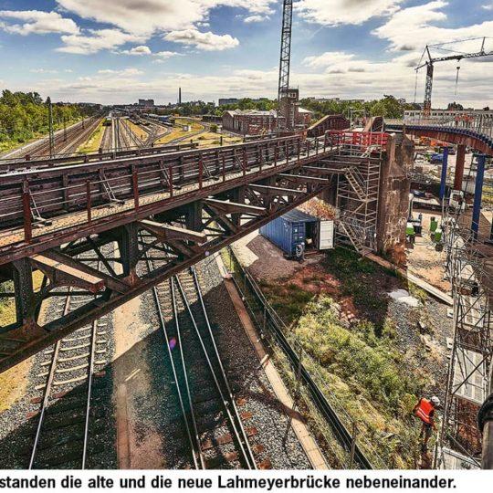 Bogenförmige Schönheit: Die neue Lahmeyerbrücke