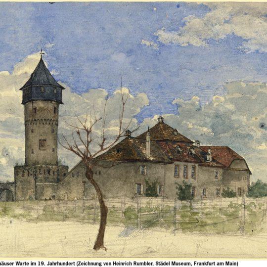 Forsthaus an der Sachsenhäuser Warte wird rekonstruiert