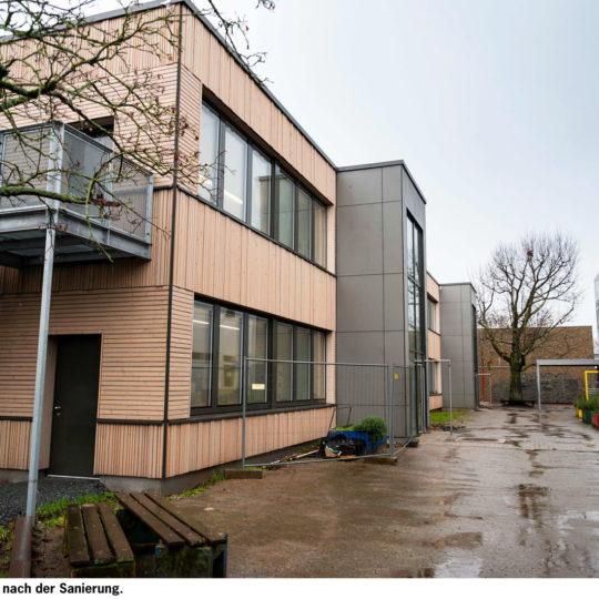 Innovative Fassade für die  Fridtjof-Nansen-Schule